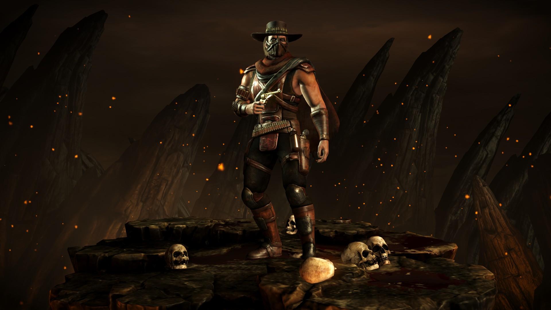 Эррон Блэк (Стиль: Стрелок) - Mortal Kombat X Эррон Блэк