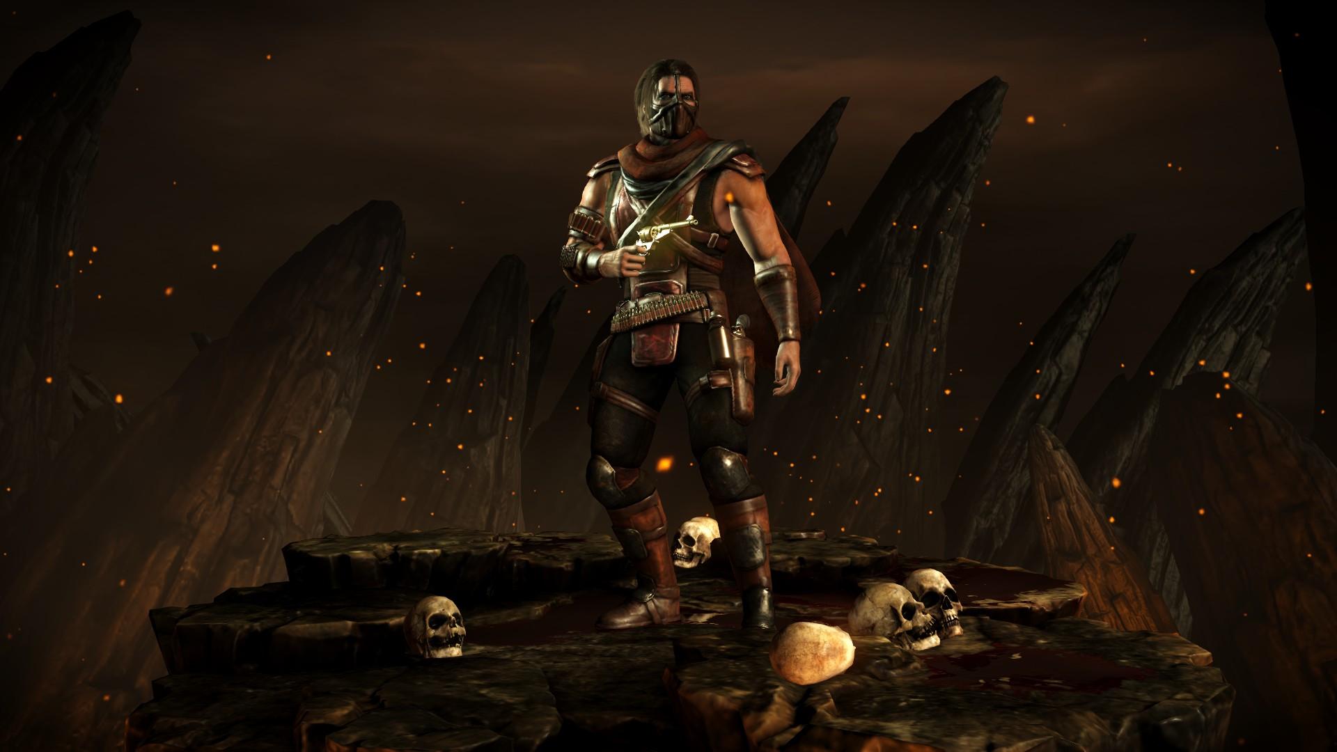 Эррон Блэк - Mortal Kombat X Эррон Блэк