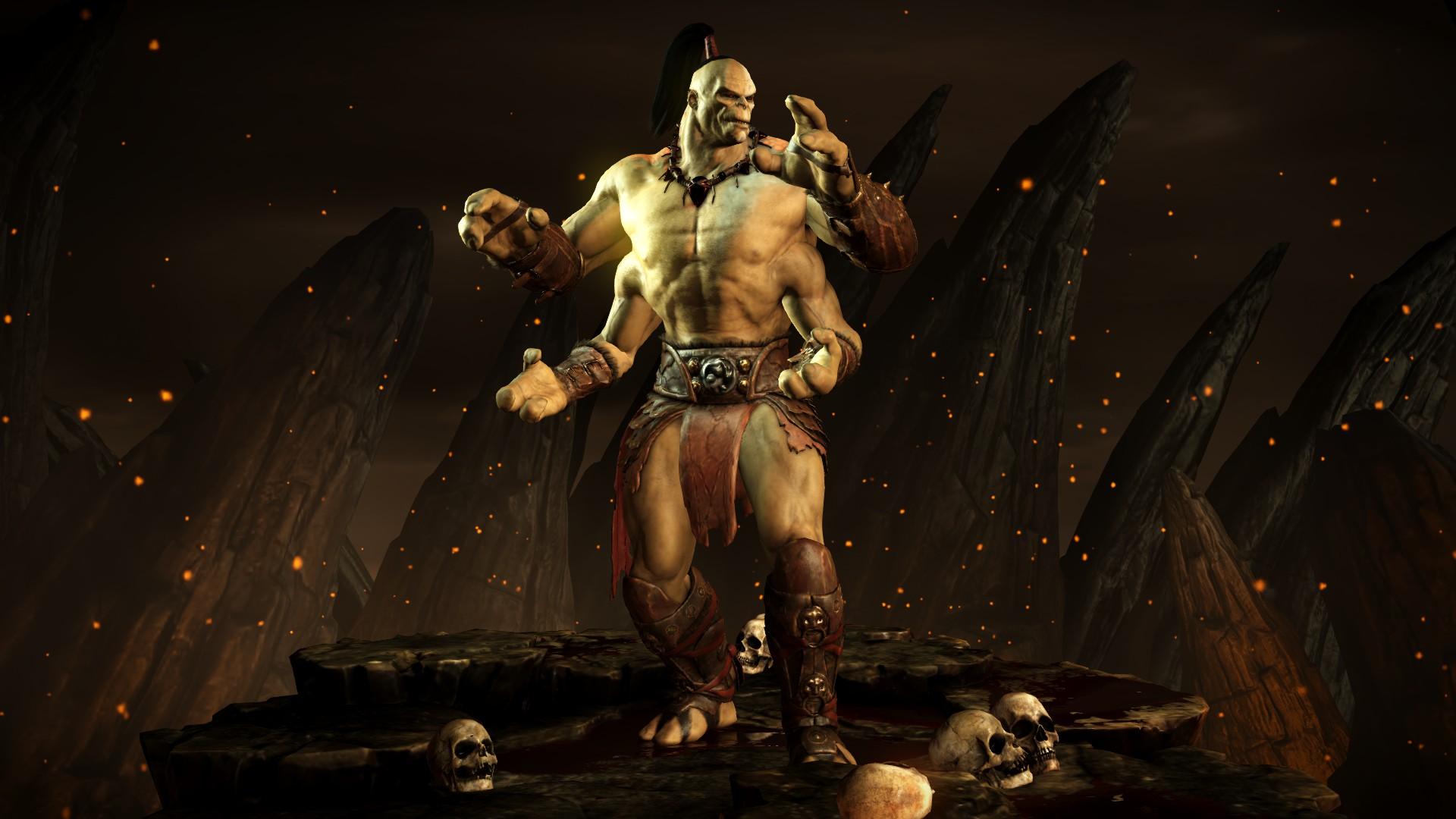 Горо (Стиль: Бешенство тигра) - Mortal Kombat X Горо