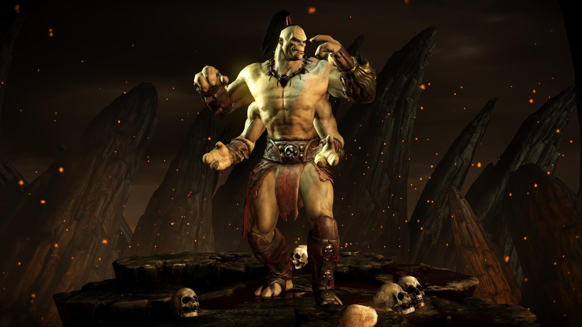 Горо (Стиль: Клыки дракона) - Mortal Kombat X Горо