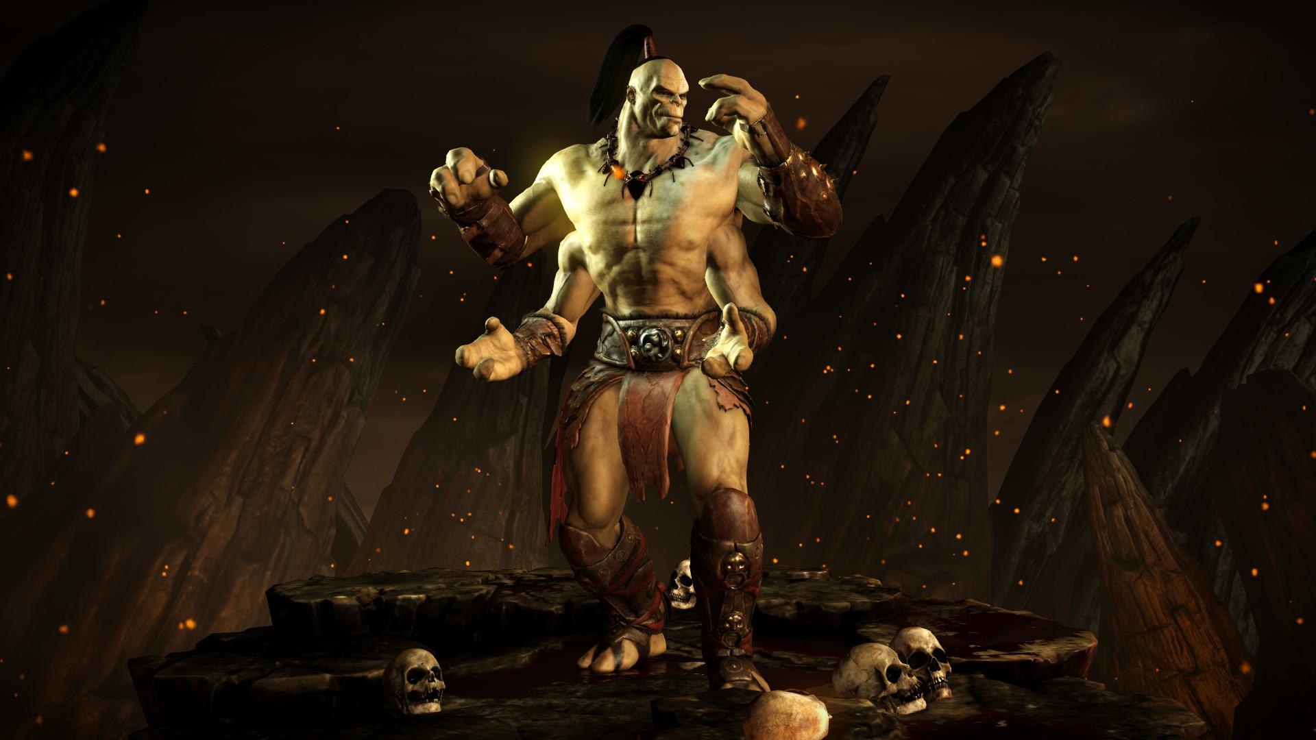 Горо - Mortal Kombat X Горо