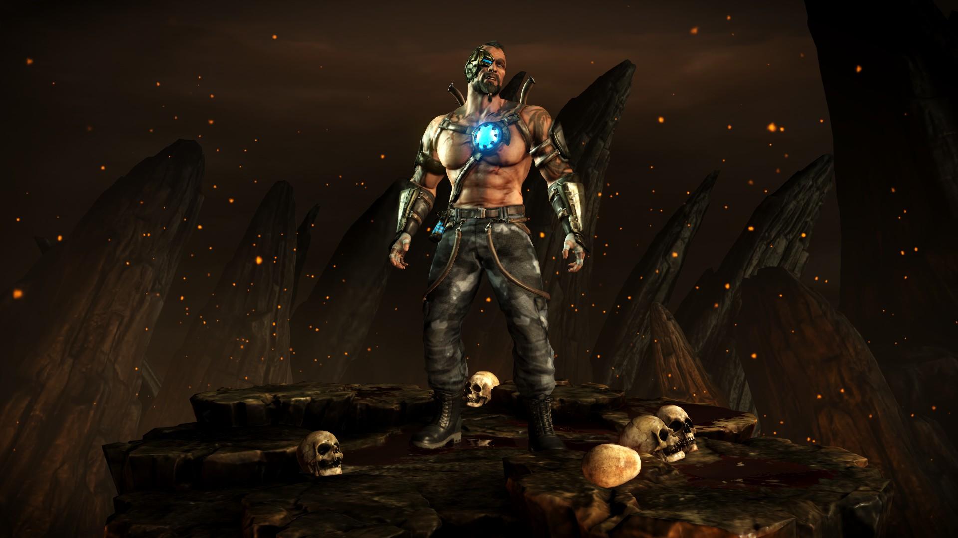 Кано (Стиль: Головорез) - Mortal Kombat X