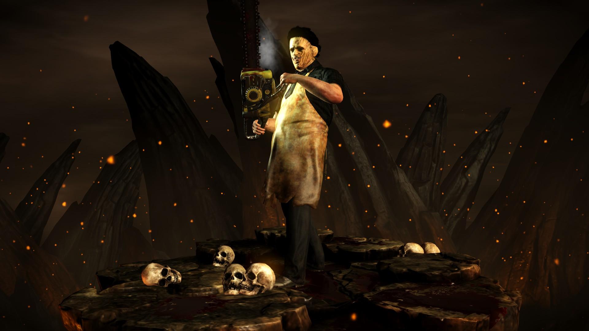 Кожаное лицо - Mortal Kombat X Кожаное лицо