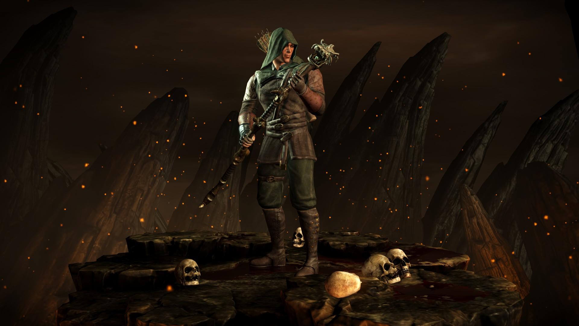 Кун Цзинь (Костюм: Снайпер) - Mortal Kombat X Кун Цзинь