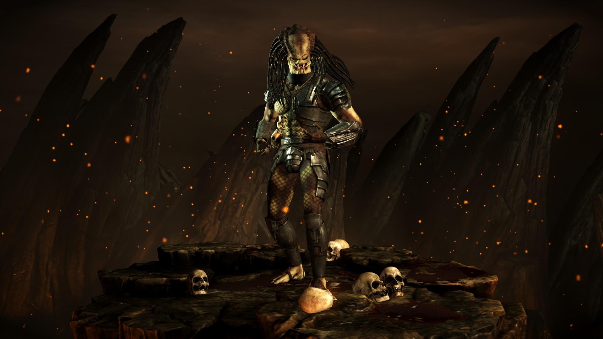 Хищник (Стиль: Воин) - Mortal Kombat X