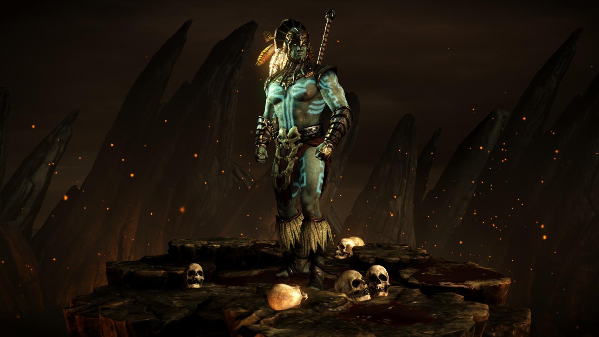 Коталь Кан (Стиль: Бог войны) - Mortal Kombat X Коталь Кан