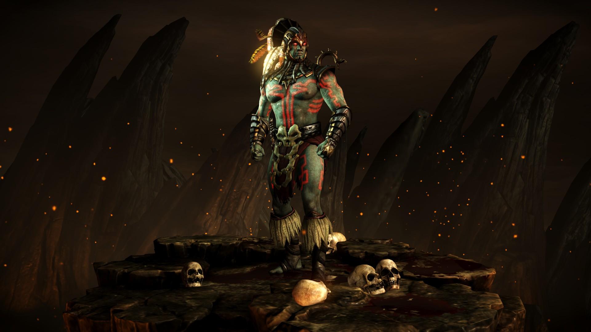 Коталь Кан (Стиль: Бог крови) - Mortal Kombat X Коталь Кан