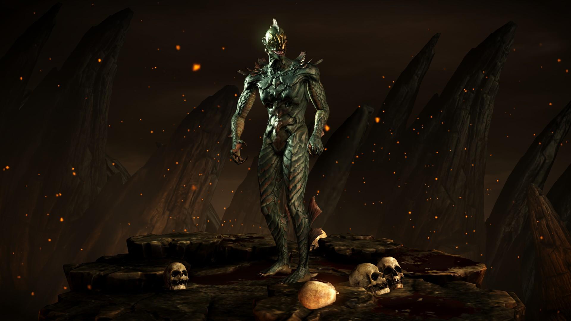 Рептилия (Костюм: Кракен) - Mortal Kombat X