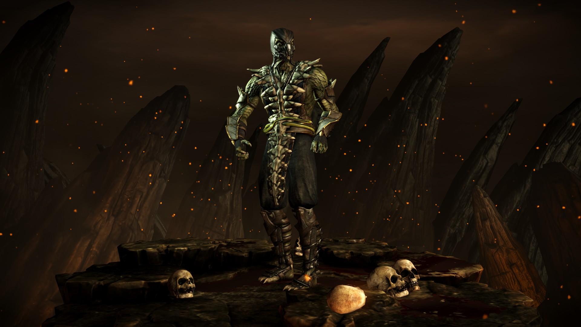 Рептилия (Стиль: Ловкий) - Mortal Kombat X