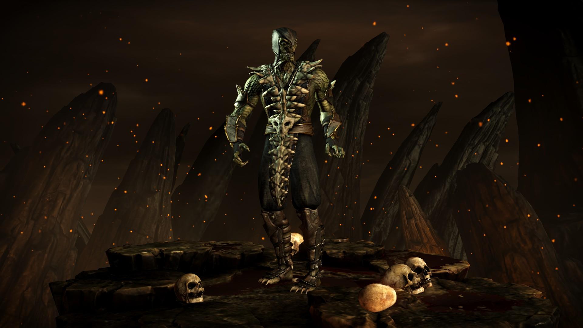 Рептилия (Стиль: Мнимый) - Mortal Kombat X