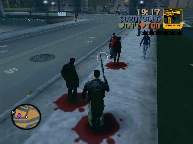 ПРИЗРАКИ!!! - Grand Theft Auto 3