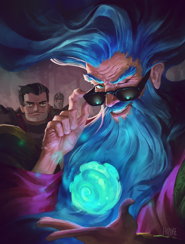 Can't Killean the Zilean - League of Legends Zilean, арт