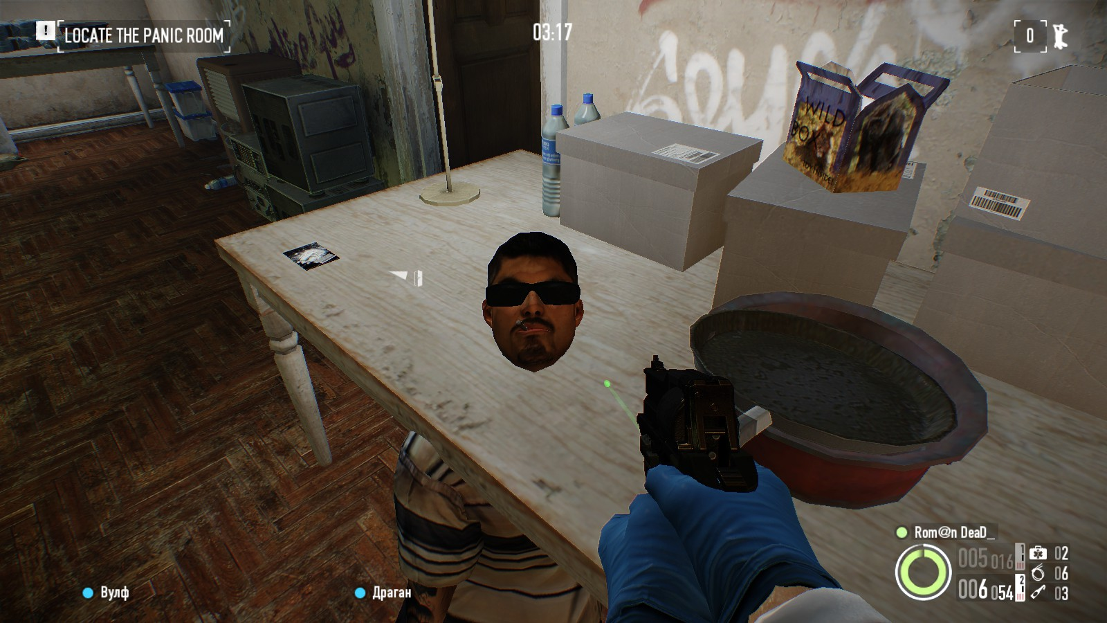 Imperturbable calm - Payday 2