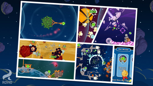 - - Angry Birds Space
