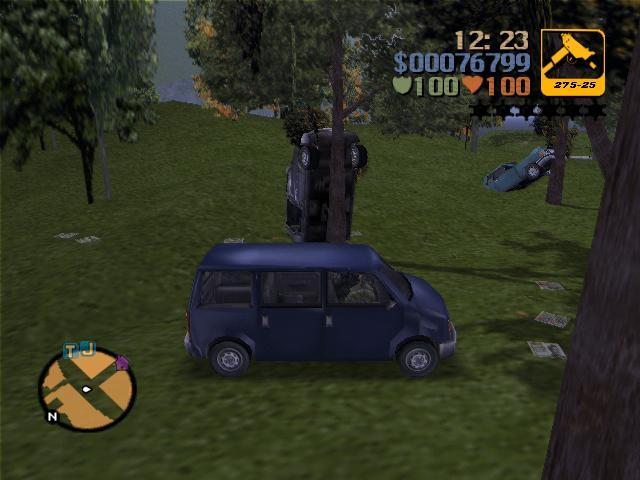 Поиски продавок - Grand Theft Auto 3