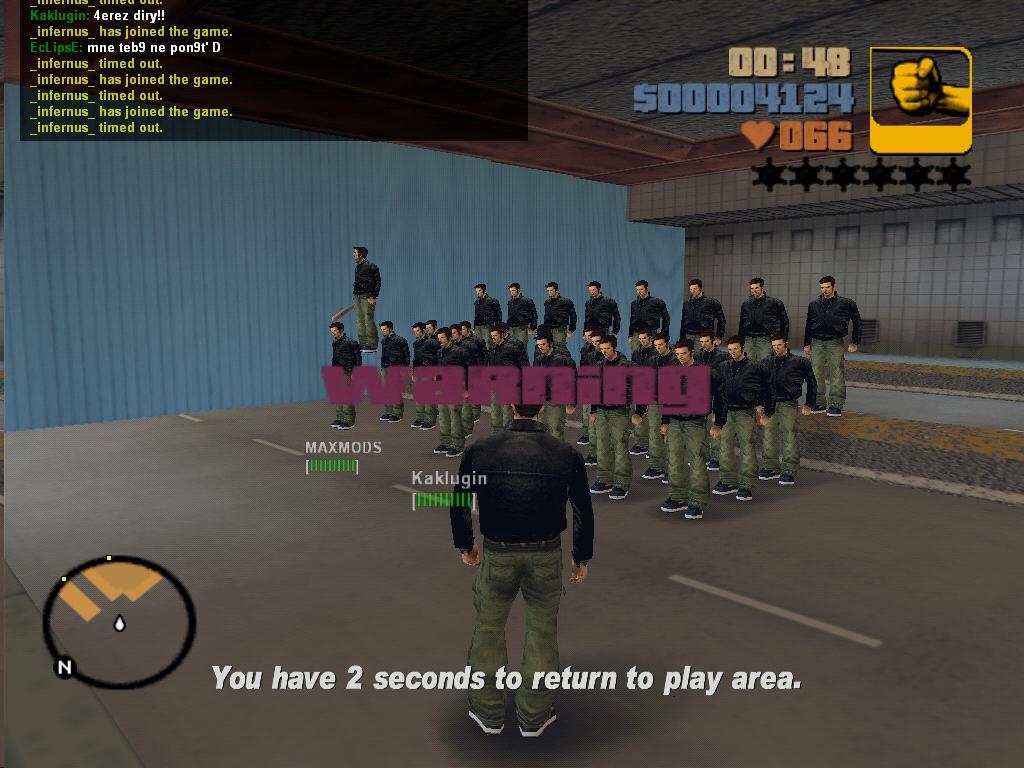 Армия Клодов 2 - Grand Theft Auto 3
