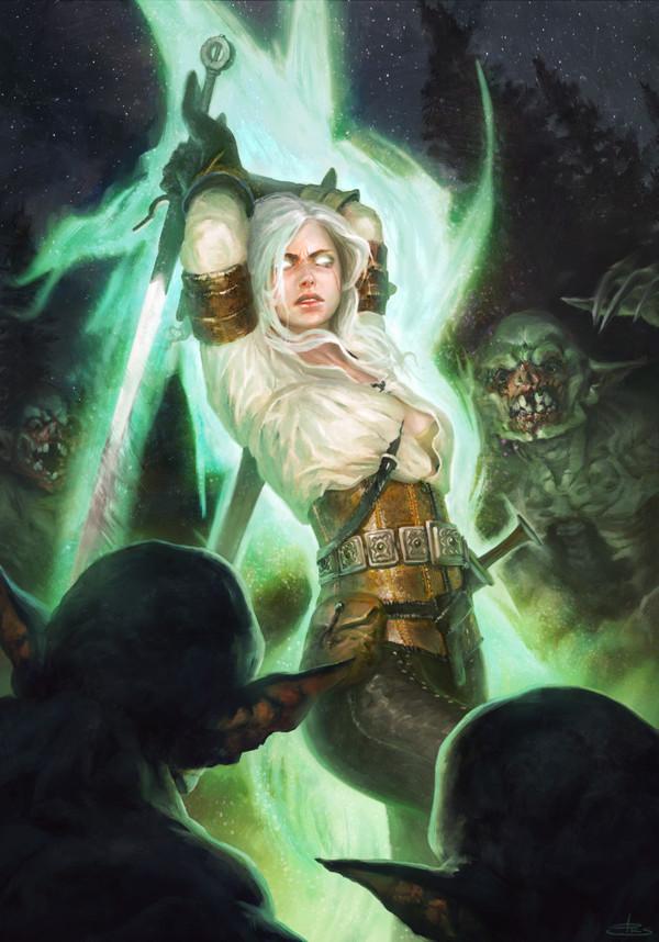Цири - Witcher, the Персонаж