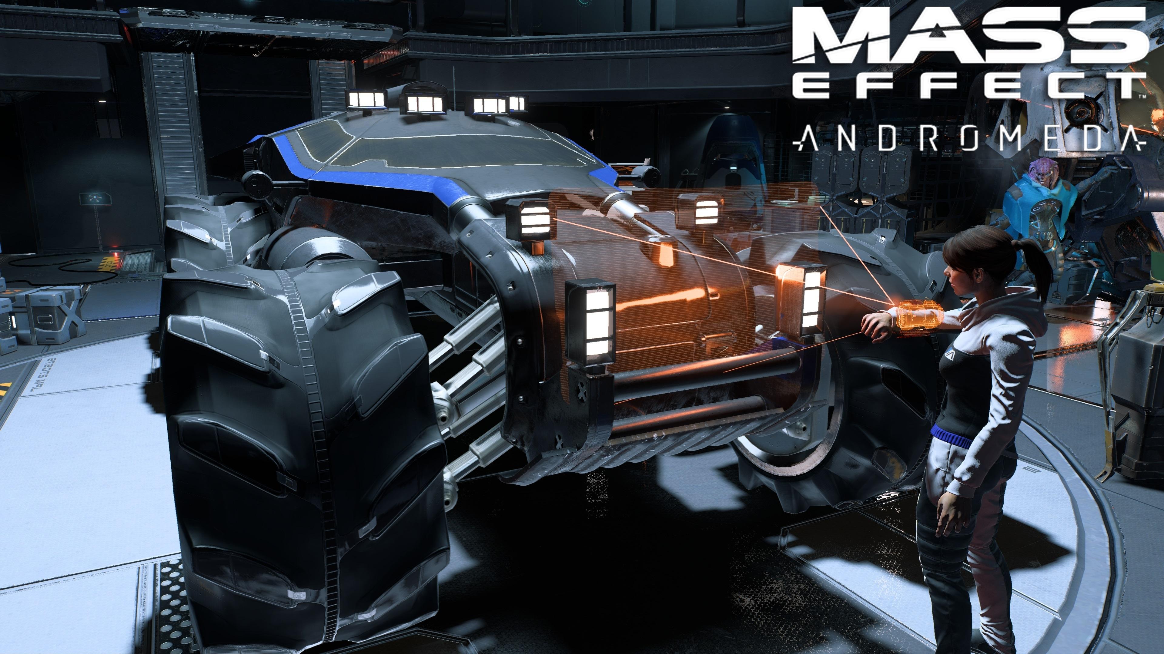 Nomad - Mass Effect: Andromeda Nomad, Sara