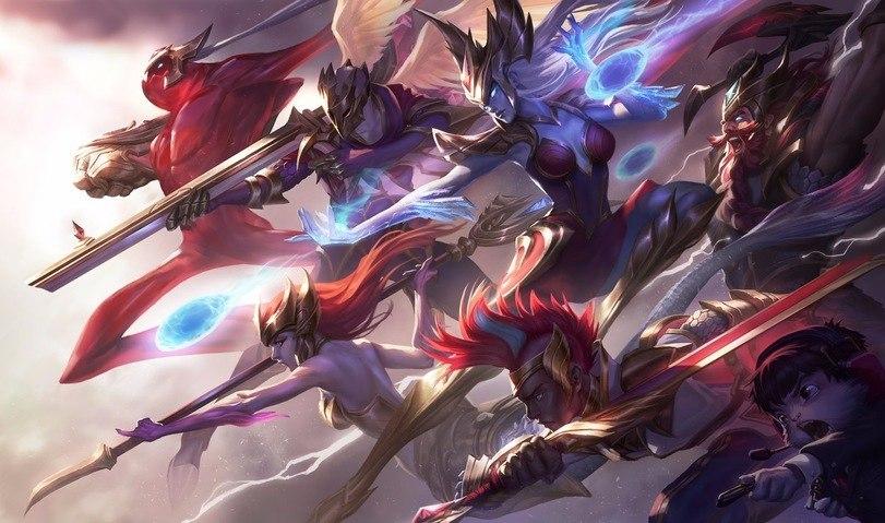 Новые образы SK Telecom T1 - League of Legends Зак, Олаф