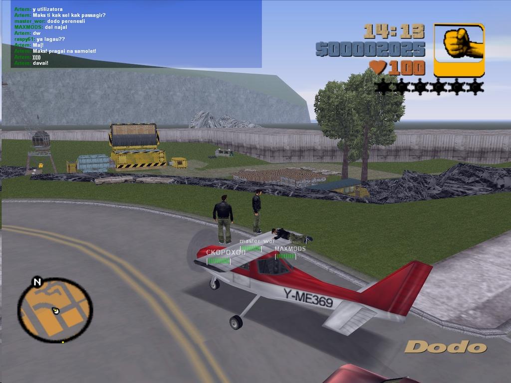 Попытка 2 - Grand Theft Auto 3