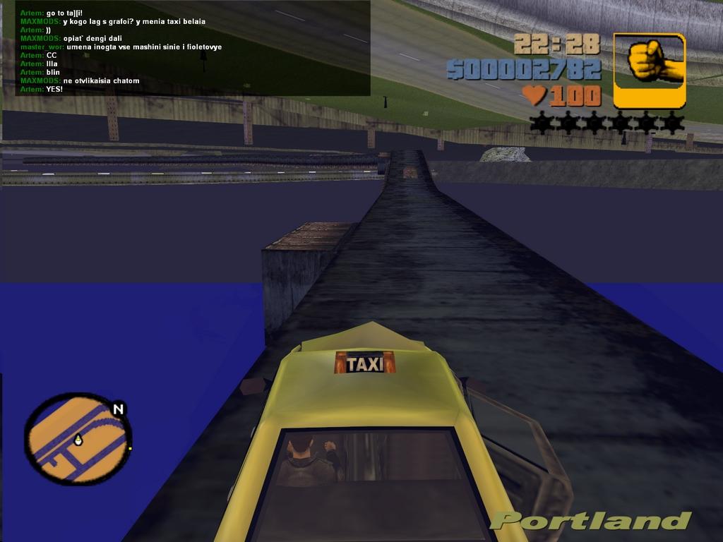 На метро - Grand Theft Auto 3