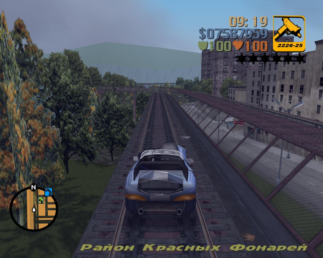от поезда ;) - Grand Theft Auto 3