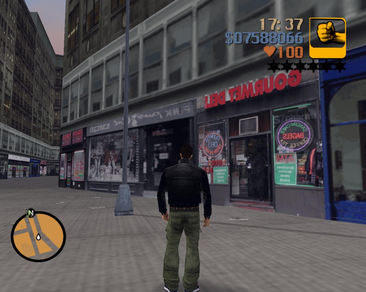 Косой переулок - Grand Theft Auto 3