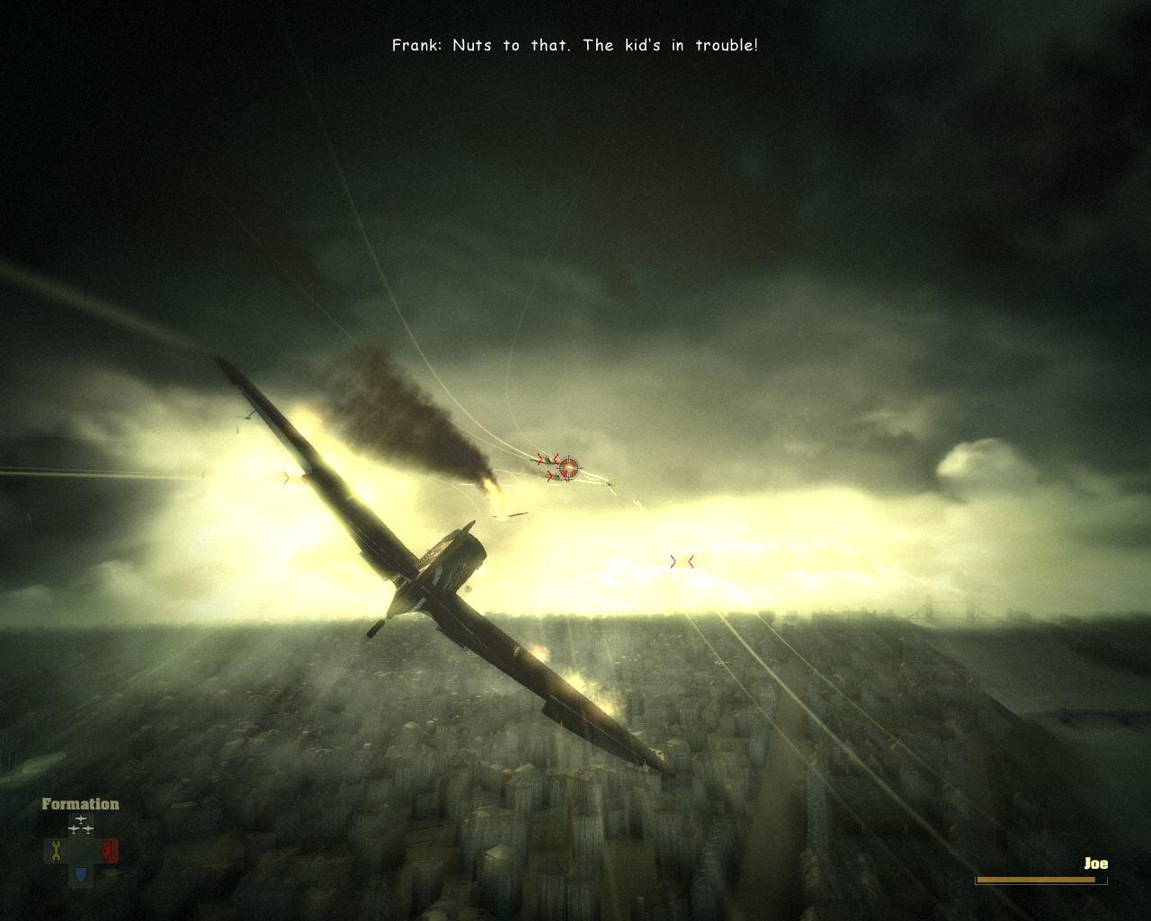 - - Blazing Angels: Squadrons of WWII Скриншот