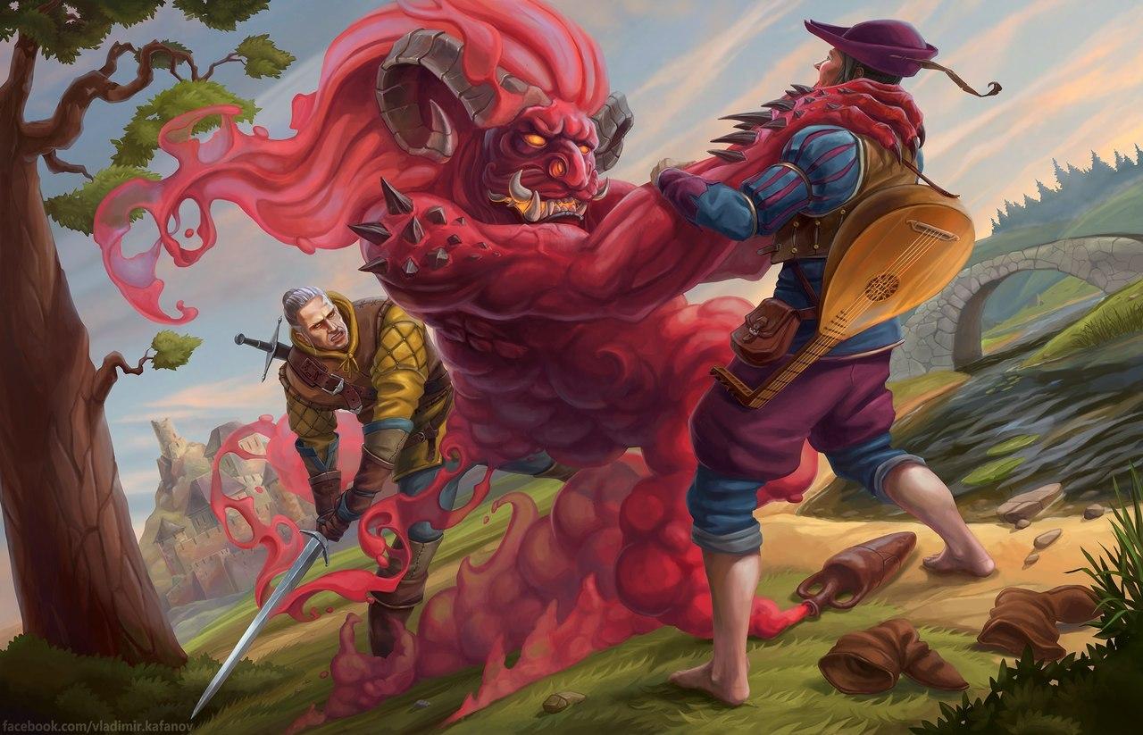 Лютик - Witcher, the