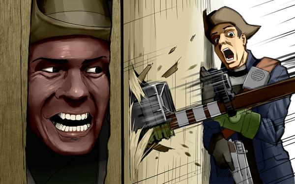 Он следит за тобой - Fallout 4 Preston Garvey
