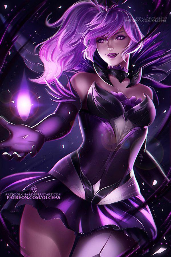 Dark Elementalist Lux by OlchaS - League of Legends Lux, OlchaS