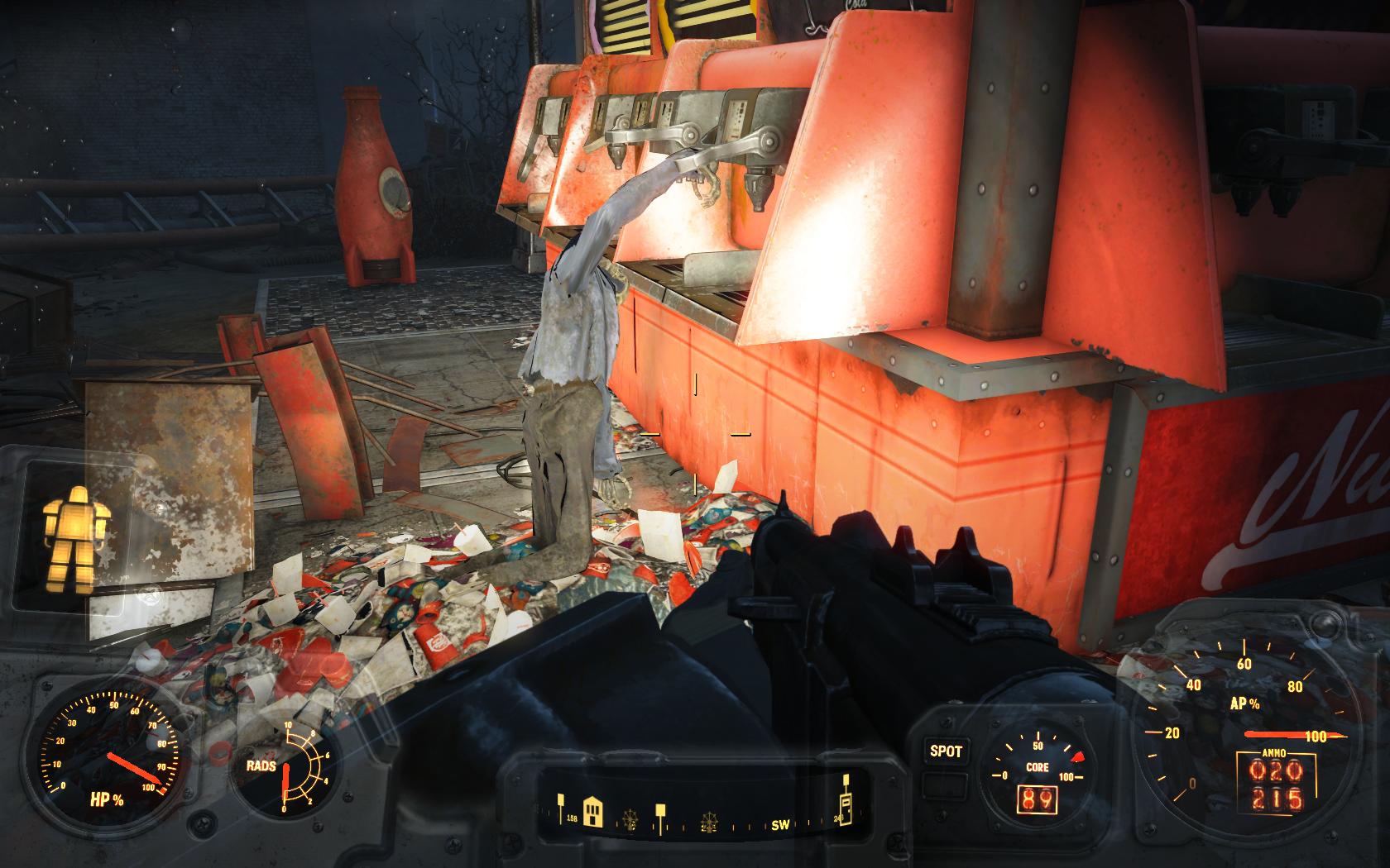 Война застала врасплох (Ядер-Мир, Сухое ущелье) - Fallout 4 Nuka-World, Юмор, Ядер-Мир