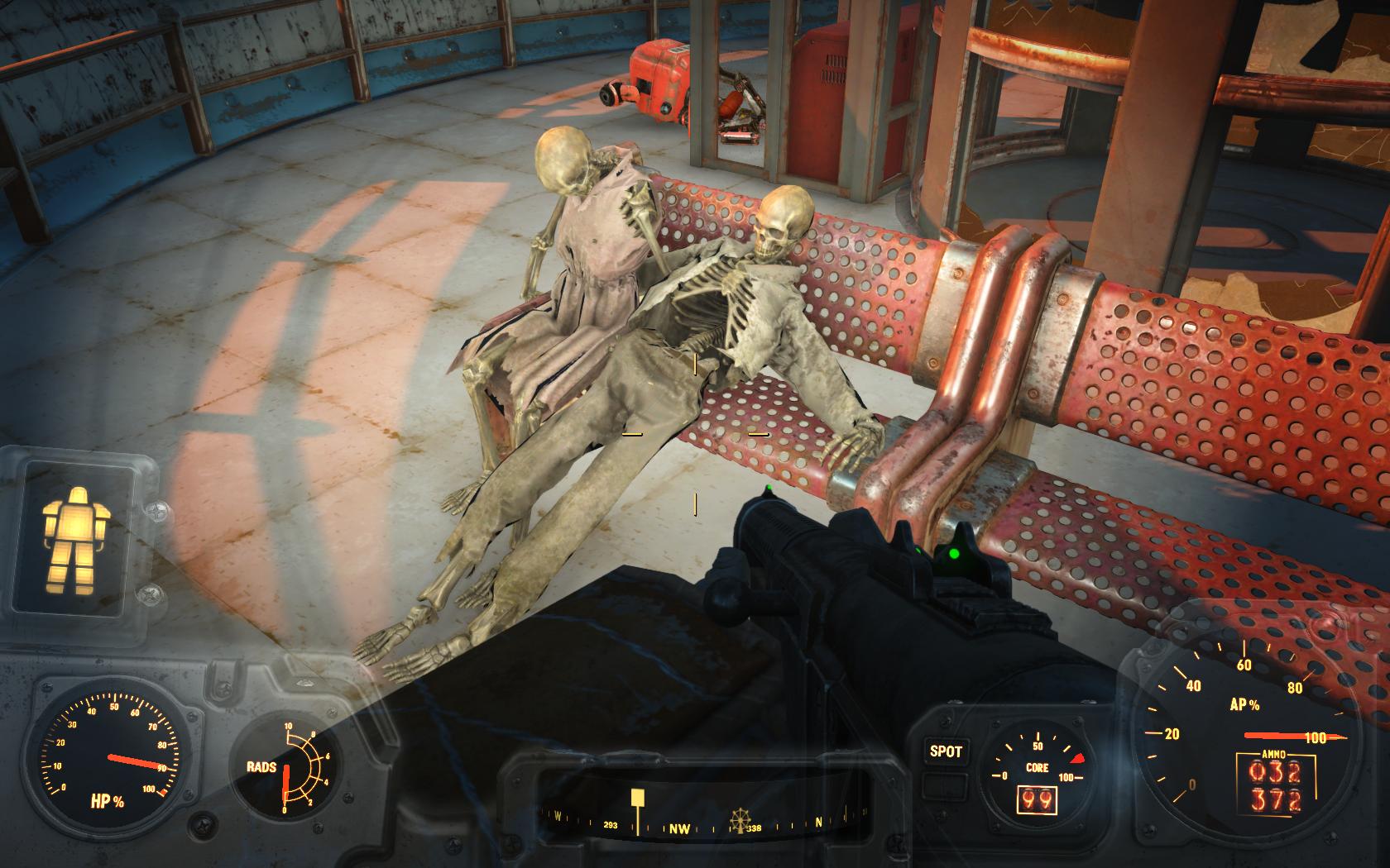 Сладкая парочка (Ядер-Мир, Крыша Ядер-Космопорта) - Fallout 4 Nuka-World, Ядер-Мир