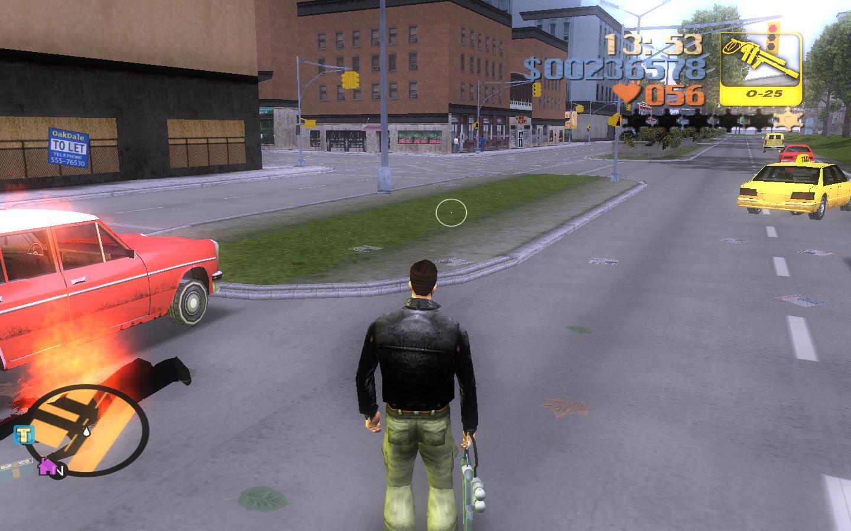 Что то здесь не так... - Grand Theft Auto 3