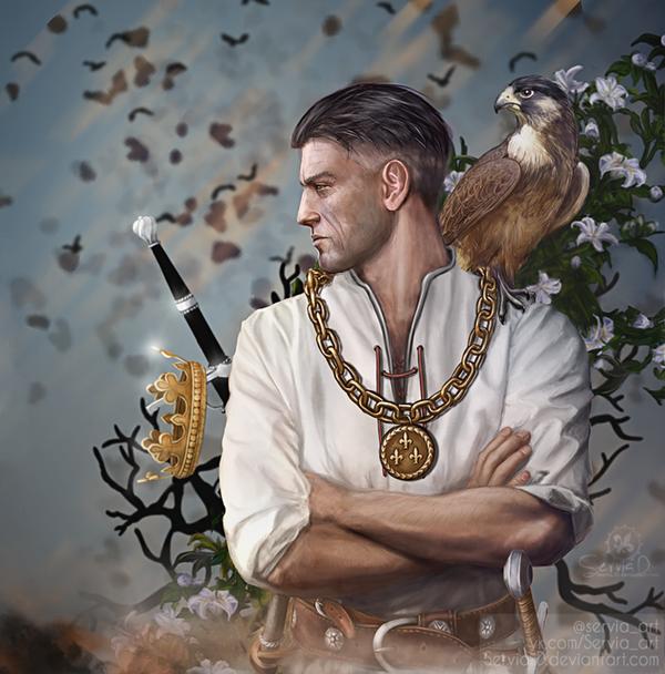 Темериевый сокол - Witcher, the Вернон Роше, Темерия