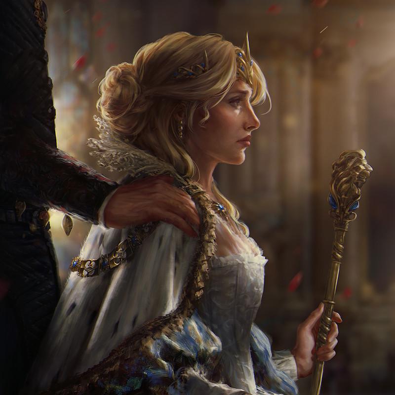Цири - Witcher, the арт, Гвинт, Персонаж
