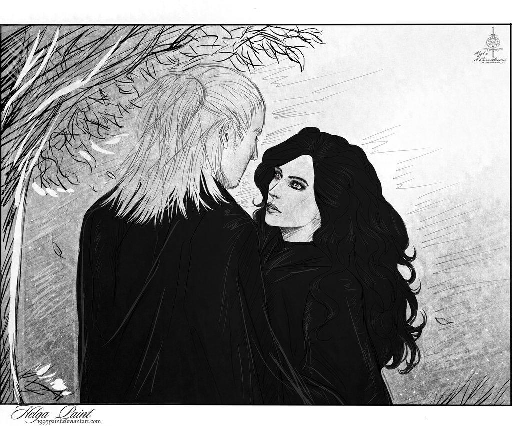 Йеннифер - Witcher, the арт, Персонаж