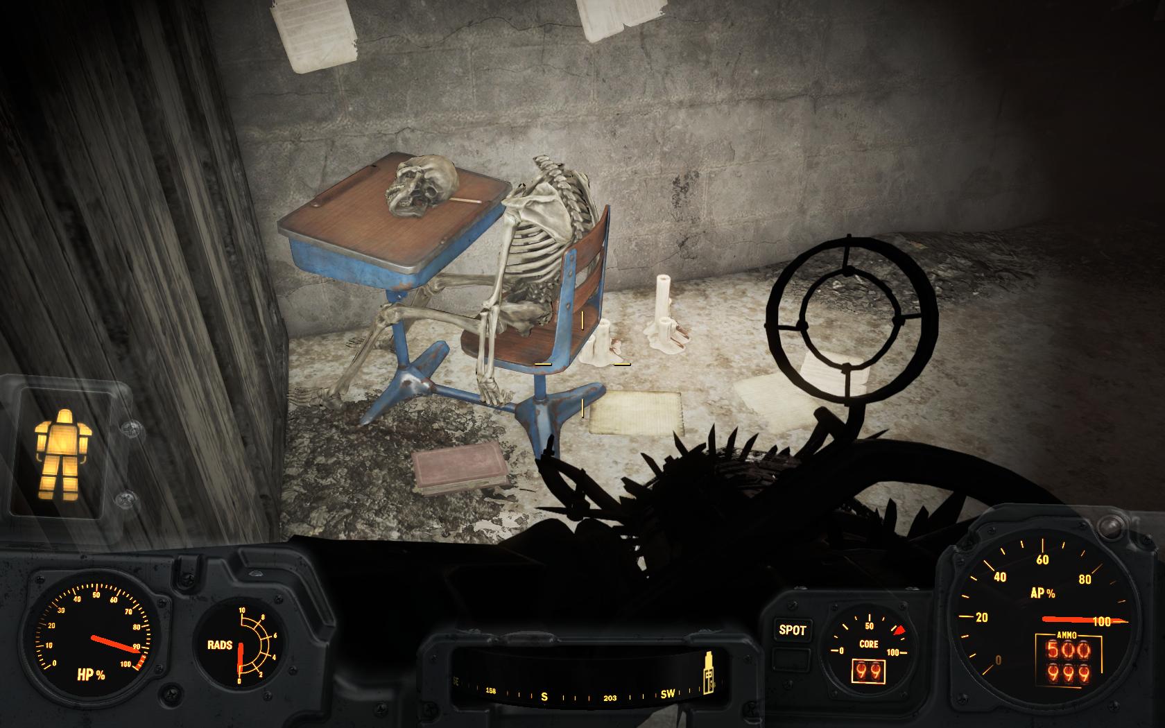 Башню снесло от чтива! (Музей ведьм Салема) - Fallout 4