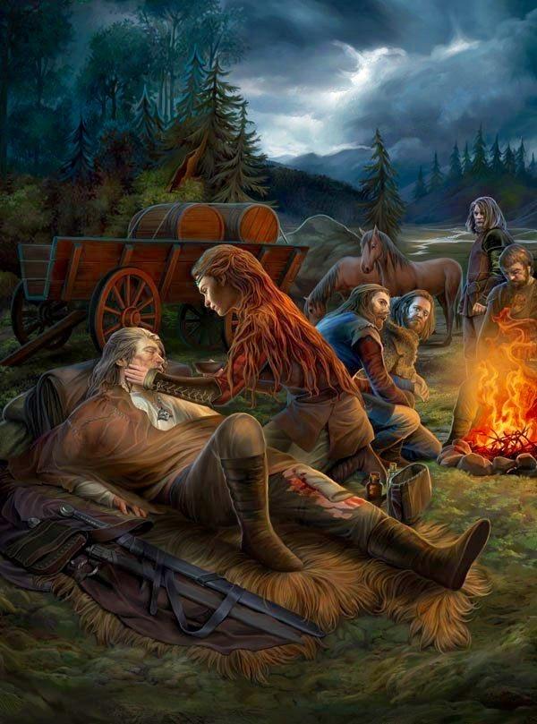 Нечто большее - Witcher, the арт, Висенна