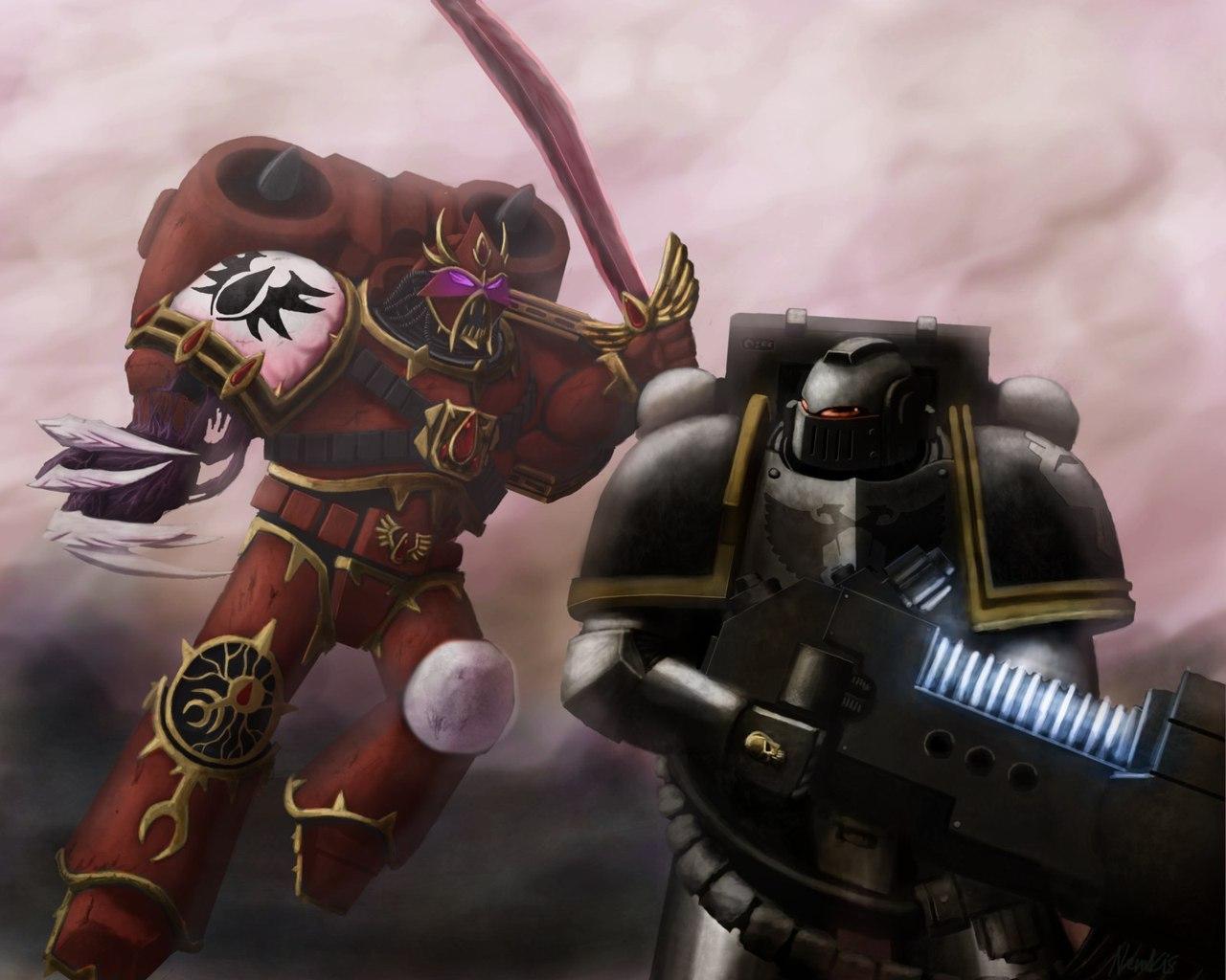 Mnha3gBwrDQ.jpg - Warhammer 40.000: Dawn of War 2 Арт