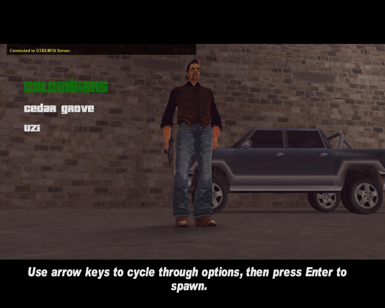 Shoreside spawn skin 1 - Columbian - Grand Theft Auto 3