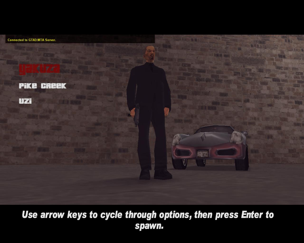 Shoreside spawn skin 3 - Yakuza - Grand Theft Auto 3