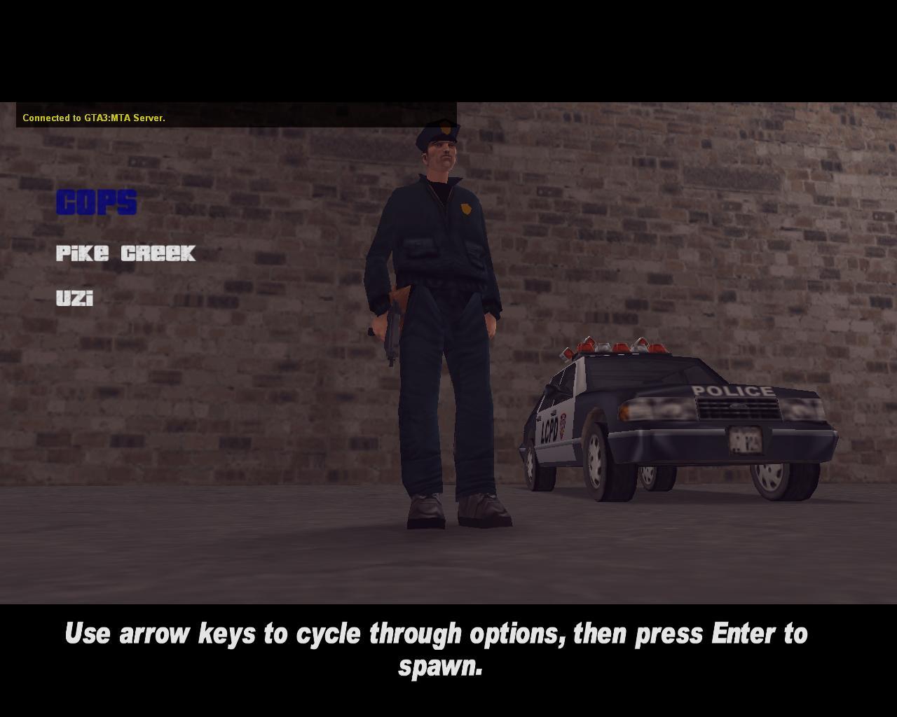 Shoreside spawn skin 4 - Cops - Grand Theft Auto 3