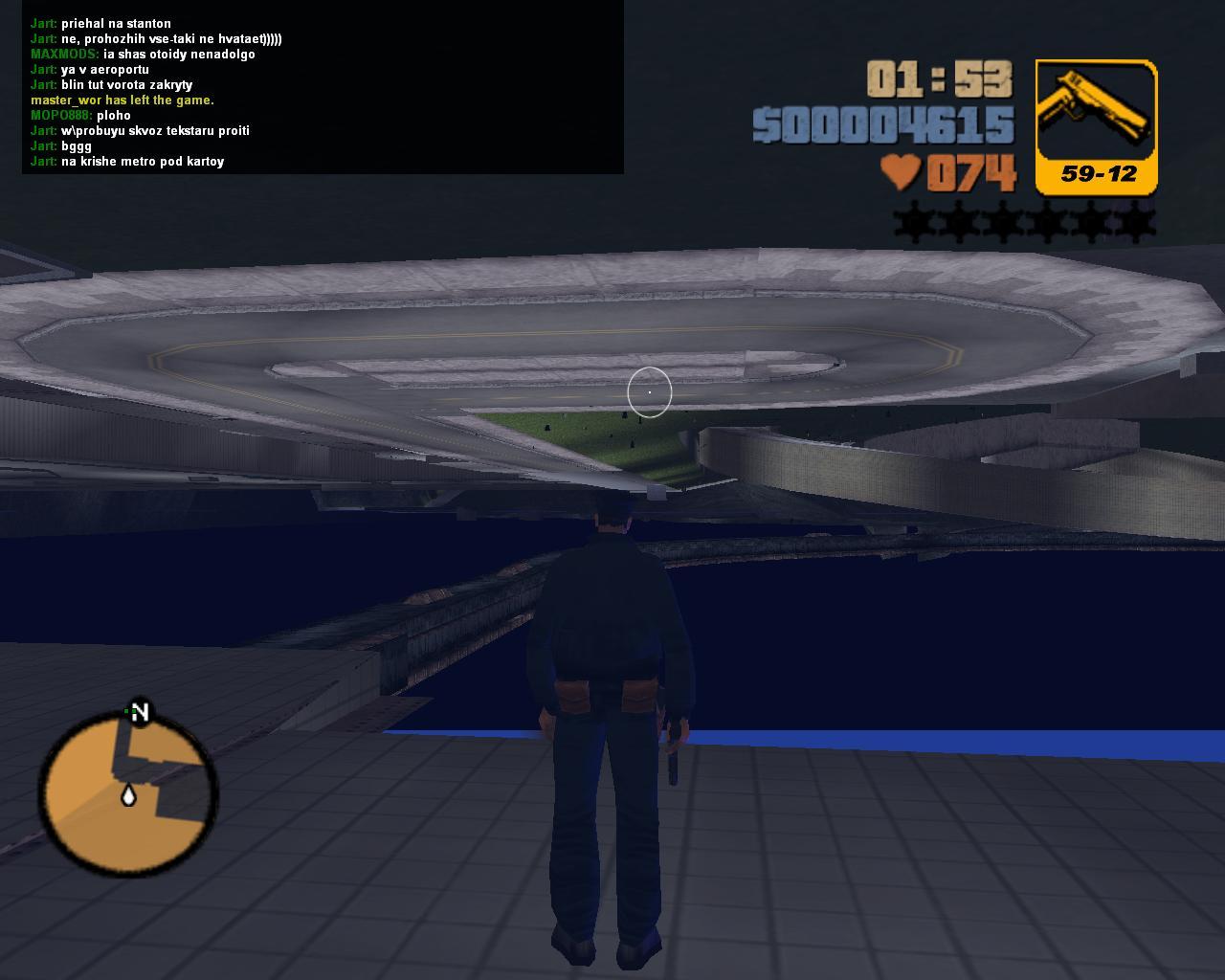 День первый. Попытка возвращения на Шорсайд Вейл - Grand Theft Auto 3