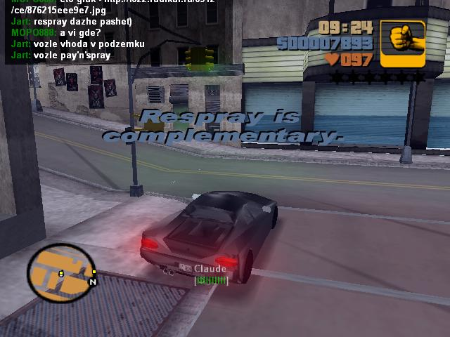 День второй. Респрей шопы в Портленде тоже работают - Grand Theft Auto 3