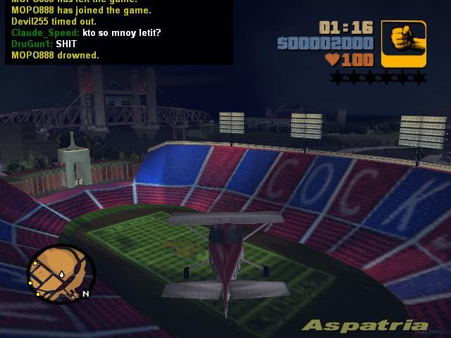 Полеты на Додо 1 - Grand Theft Auto 3