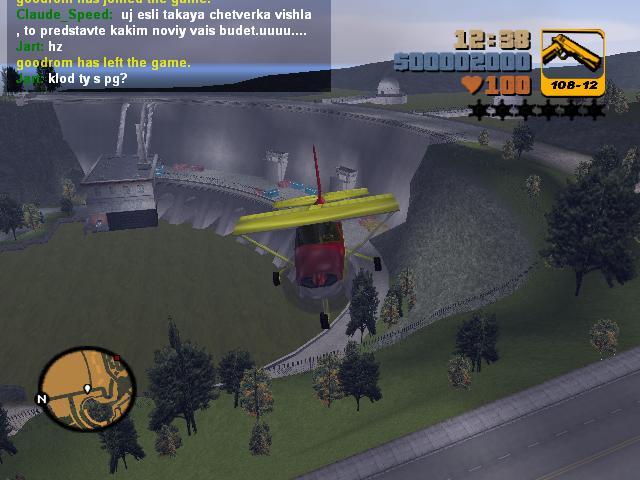 Полеты на Додо 9 - Grand Theft Auto 3