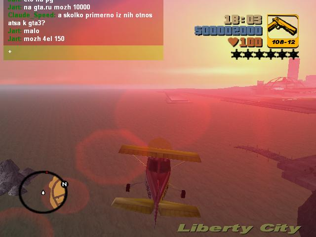 Полеты на Додо 13 - Grand Theft Auto 3