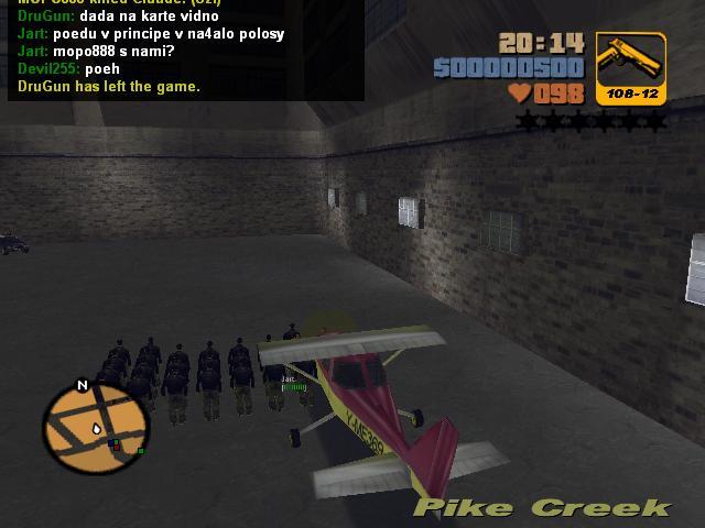 Армия Клодов Шорсайд Вэйл 1 - Grand Theft Auto 3