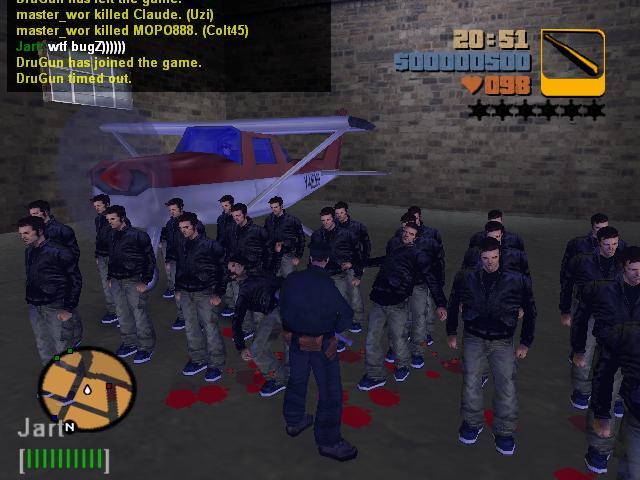 Армия Клодов Шорсайд Вэйл 2 - Grand Theft Auto 3
